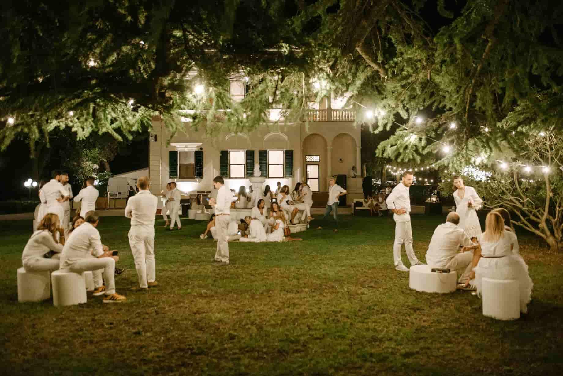 Eventi esclusivi location Villa Gentiloni elegante Ancona Macerata Marche region