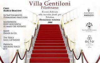 Una notte rara beneficenza Eventi esclusivi location Villa Gentiloni Filottrano